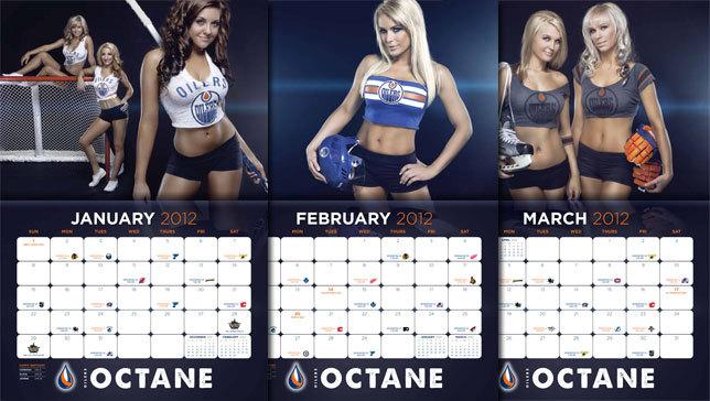 NHL: Un calendrier 2012 sexy qui fait fondre la glace
