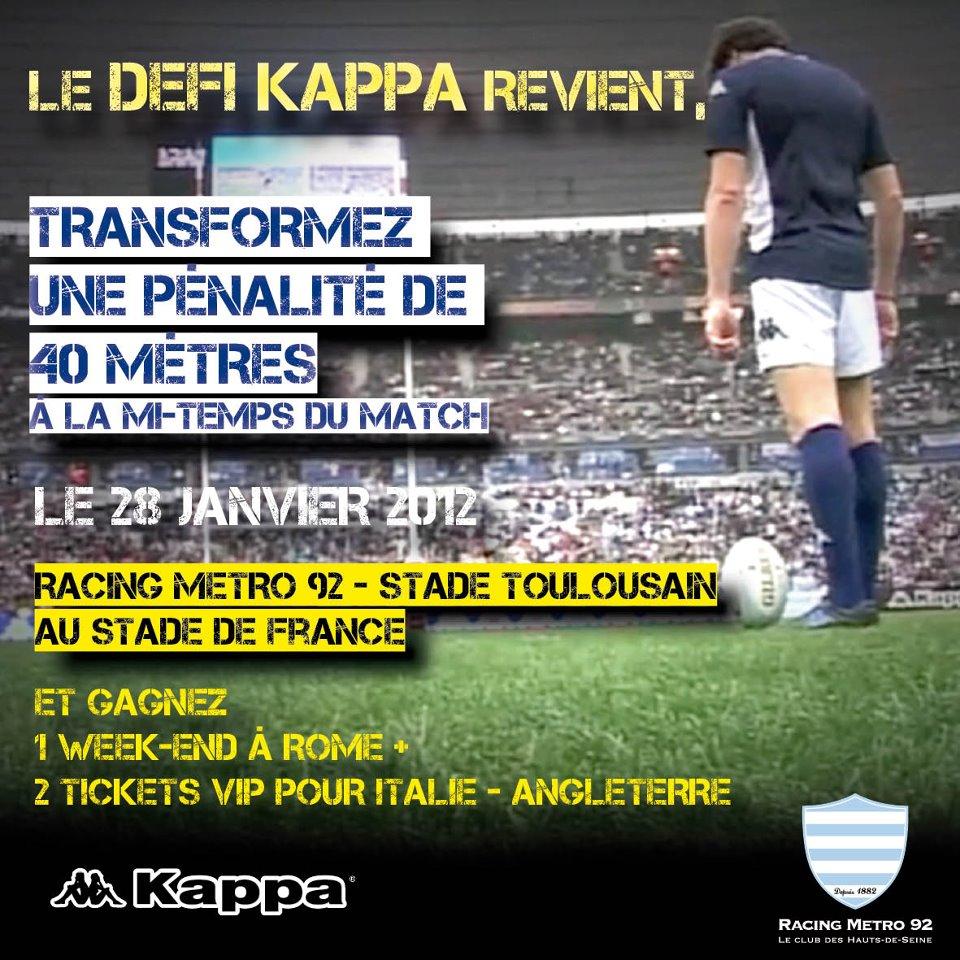 Le défi Kappa revient et vous envoie à Rome - SportBuzzBusiness.fr f63957651a8