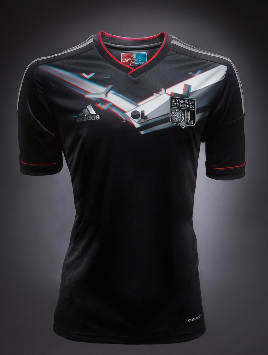 tenue de foot OL noir