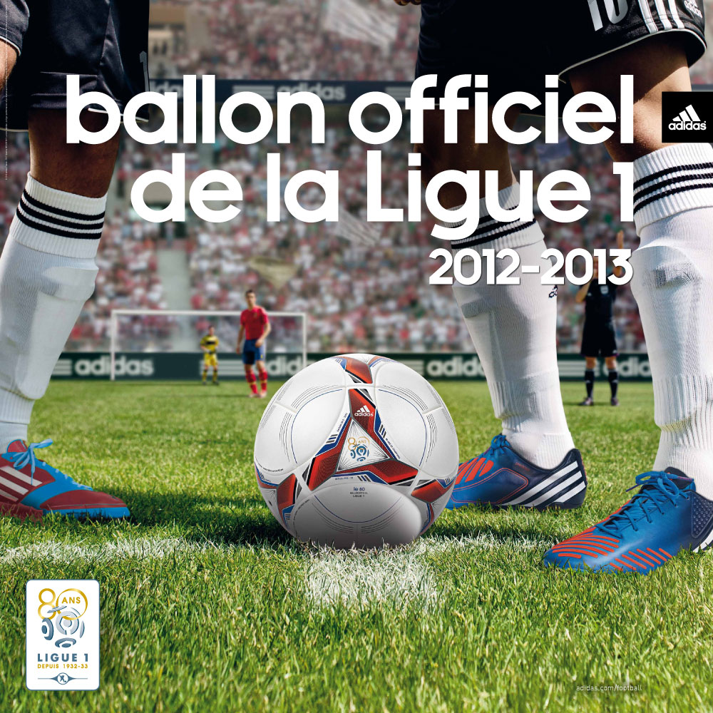 adidas pr sente le nouveau ballon de la ligue 1 2012 2013. Black Bedroom Furniture Sets. Home Design Ideas