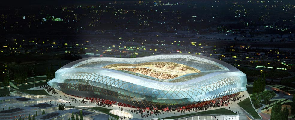 Naming le stade de nice devient l 39 allianz riviera for Piscine olympique nice