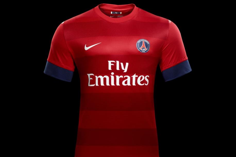 Le psg pr sente le nouveau maillot ext rieur 2012 2013 for Maillot psg exterieur 2016