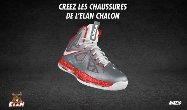 La Implique Modèle Création De Basket Pour Ses Fans Du L'elan Chalon FSw1XqXR