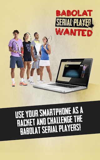 babolat serial player wanted iPhone