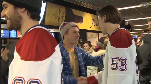 canadiens de montréal hockey de retour 2013 centre bell