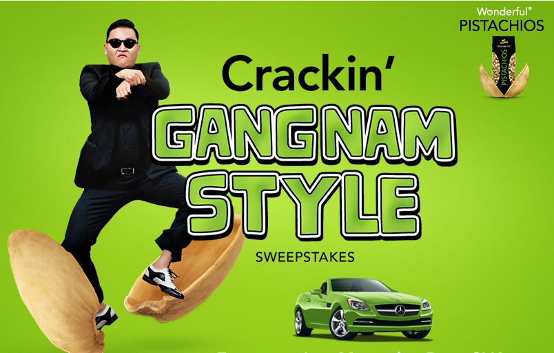 crakin gangnam style super bowl 2013 wonderful pistachios