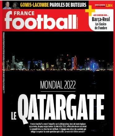 qatargate qatar 2022 coupe du monde de football france football