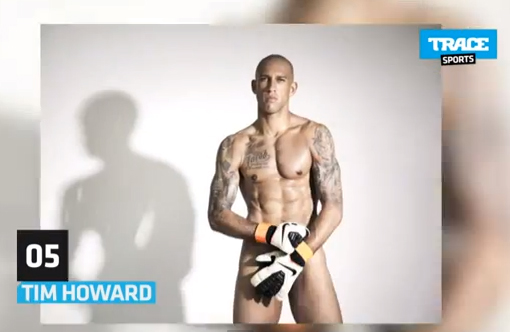 tim howard naked sexy glamour nu