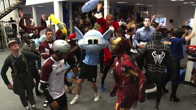 THE HARLEM SHAKE: Behind the scenes at Manchester City