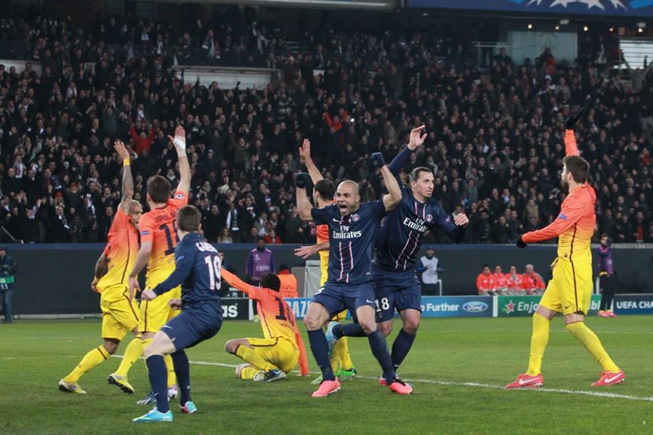 PSG - Barcelone 2-2