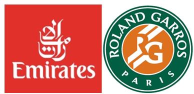 emirates roland garros sponsoring tennis