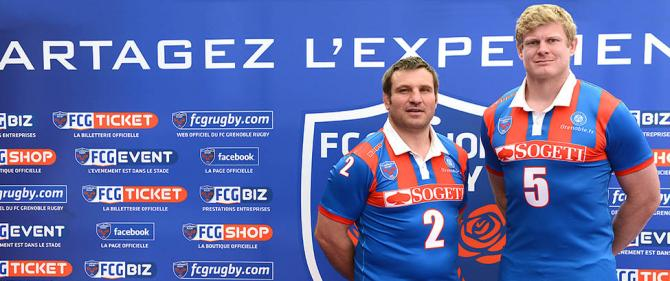 maillot fc grenoble rugby collector kappa 20 ans