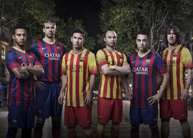 Maillot Extérieur FC Barcelona nouvelle