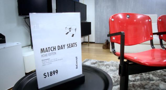 match day seats heineken the negociation champions league