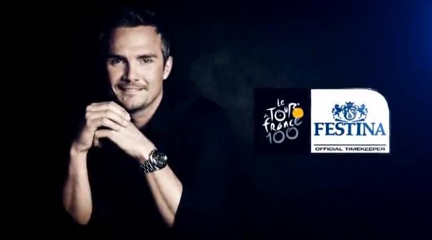 richard virenque publicité TV festina tour de france 2013