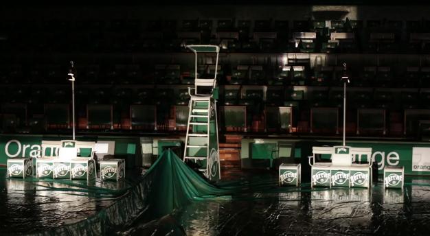 roland garros 2013 nouveau look des courts tennis sponsors chaise arbitre banc joueurs