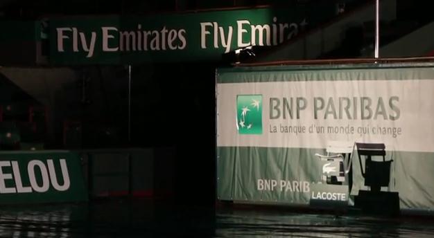 roland garros 2013 nouveau look des courts tennis sponsors fly emirates