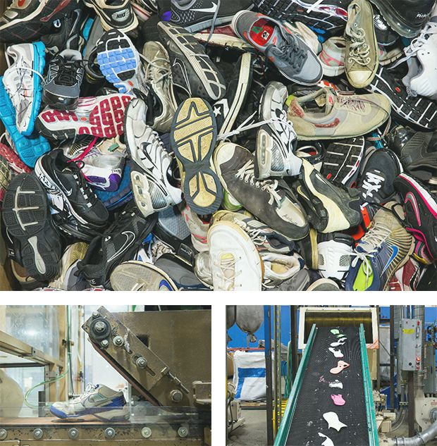 Recycling Running Shoes Canada