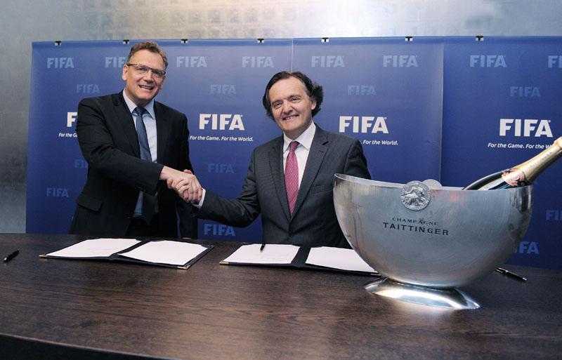 FIFA-Taittinger -champagne coupe du monde 2014 brésil