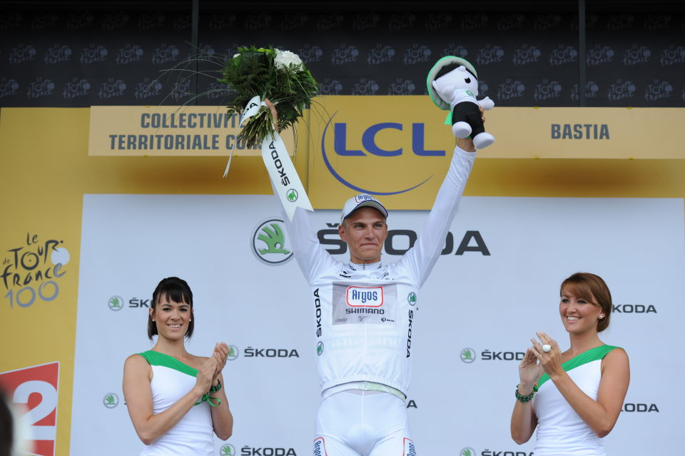 Hôtesses skoda Tour de France 2013 podium