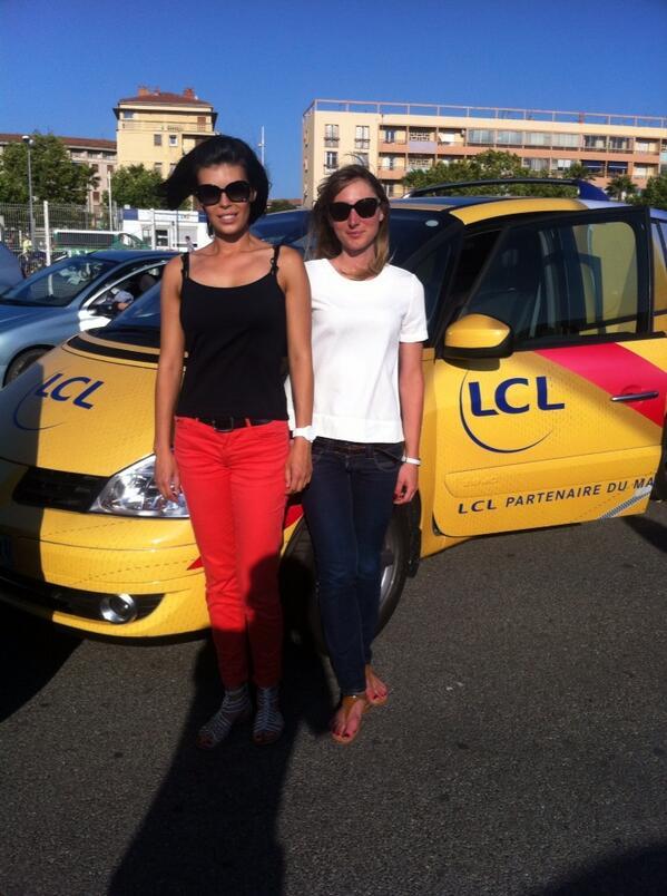 LCL hôtesses caravane publicitaires 2013 tour de france