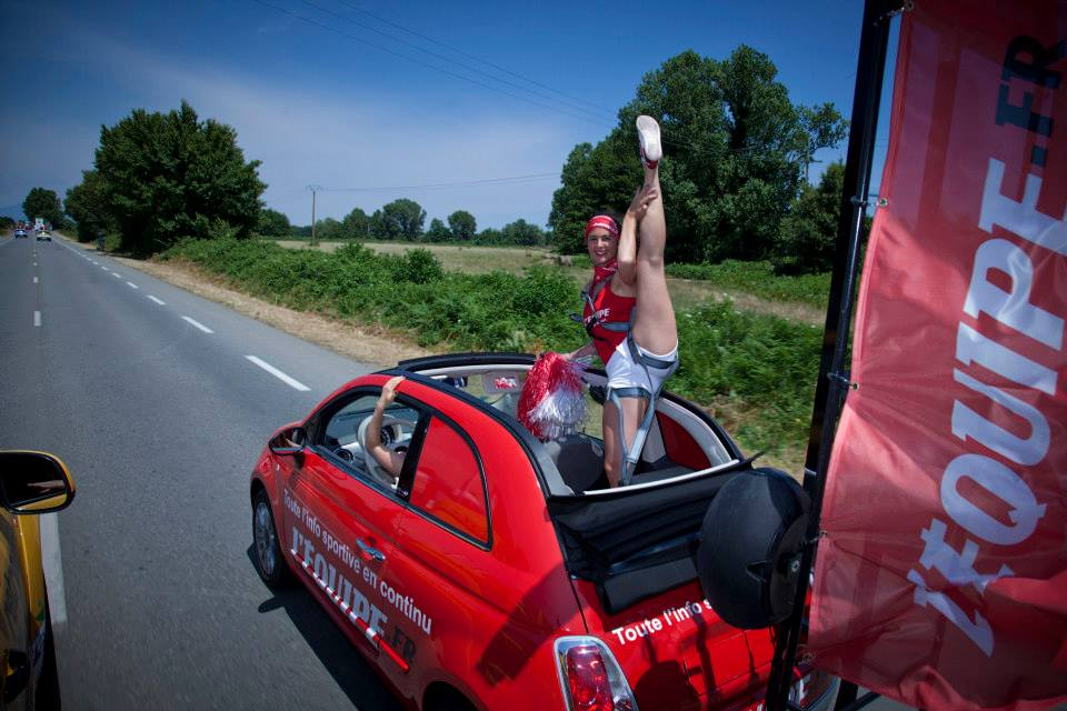 L'Equipe caravane publicitaire 2013
