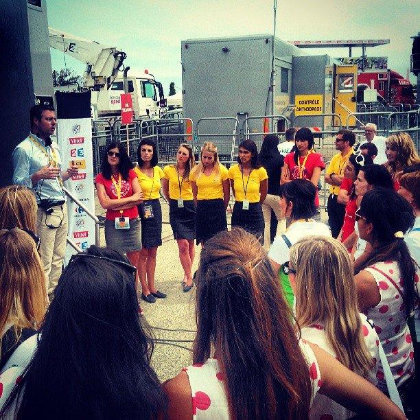 hôtesses LCL Tour de France 2013