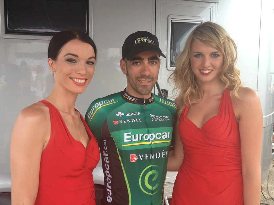 hôtesses brandt prix de la combativité Tour de France 2013 jérôme cousin