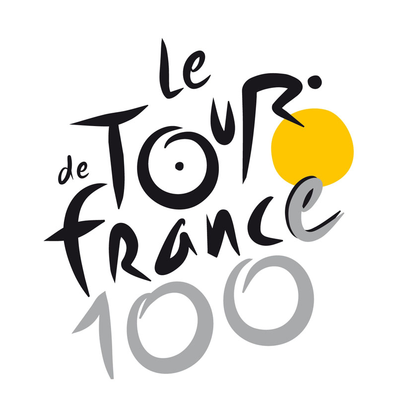 le tour de france 100 logo TDF 2013