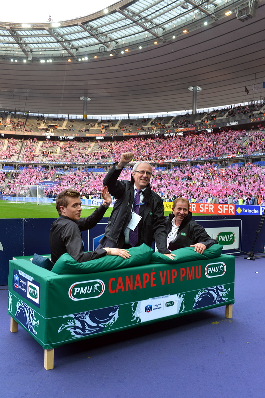 pmu canapé football coupe de france
