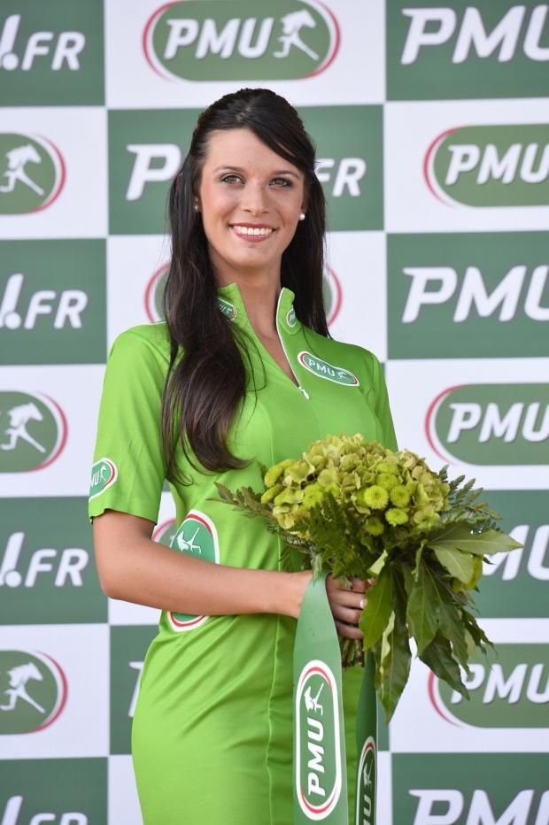 andré vannier hôtesse PMU Tour de France 2013