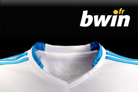 bwin olympique de Marseille partenaire officiel