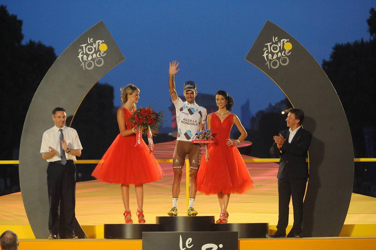 hôtesses podium Tour de France 2013 champs Elysées Brandt