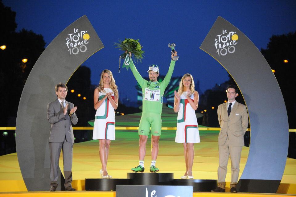 Peter Sagan, le meilleur sprinteur de ce Tour.