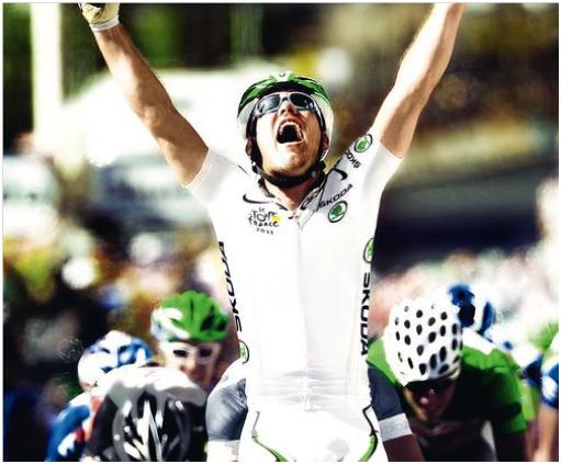 maillot blanc Tour de France 2013 skoda