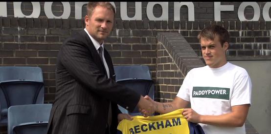 Farnborough FC beckham