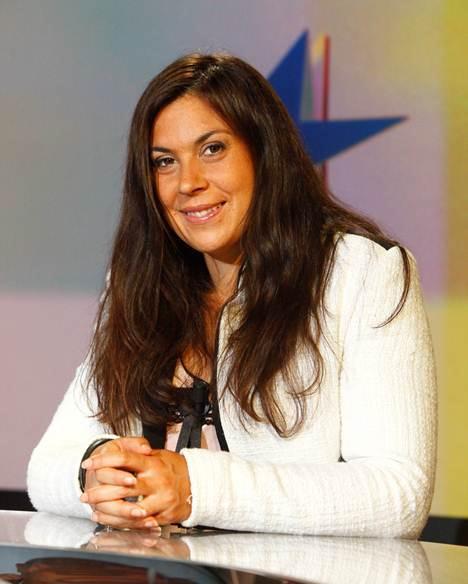 Marion Bartoli consultante eurosport US OPEN 2013 tennis