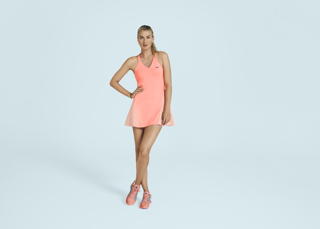 US OPEN 2013 - maria sharapova dress (Nike Outfit)