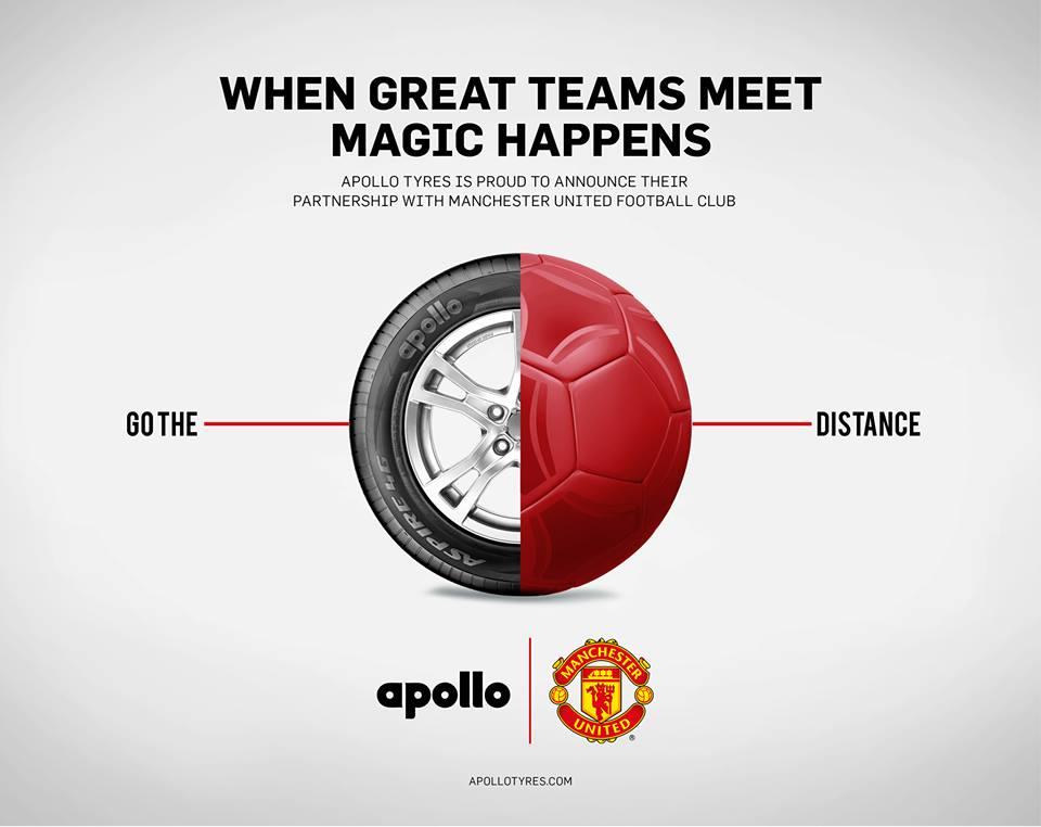 apollo tyres Manchester United