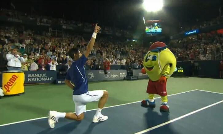djokovic daft punk get lucky montréal coupe rogers tennis