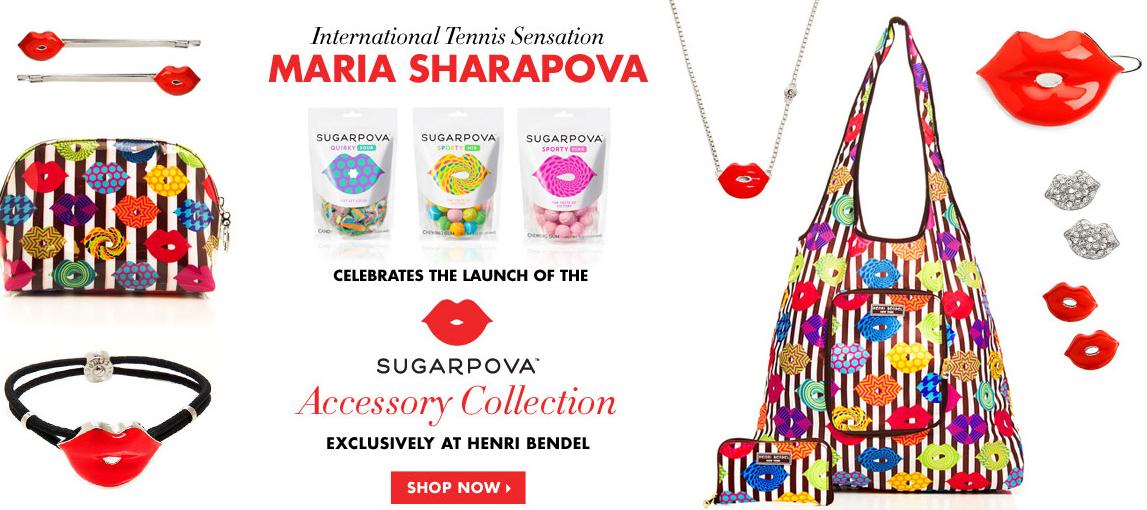 maria sharapova sugarpova accessories