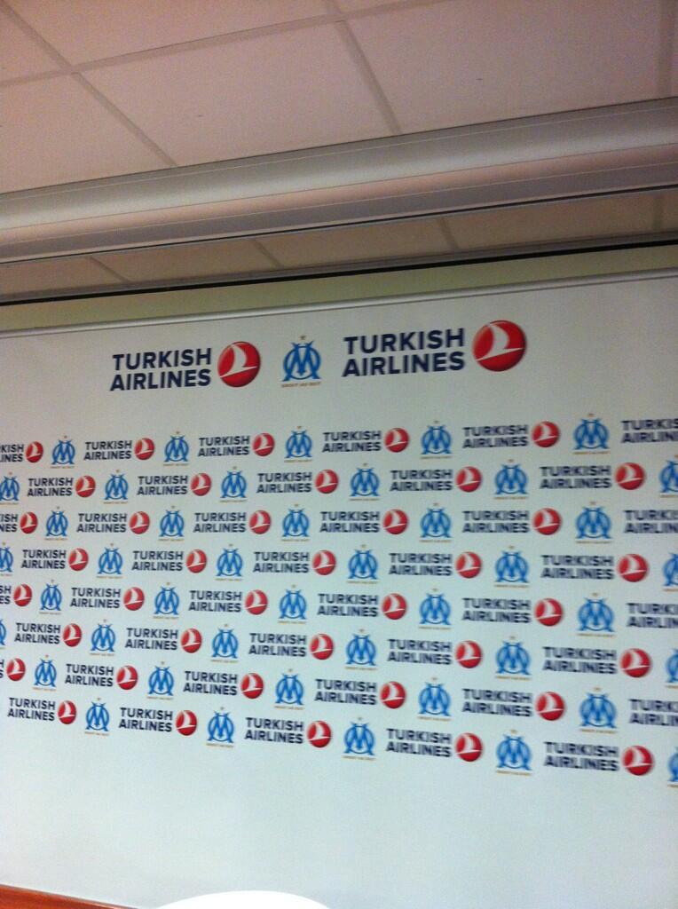 turkish airlines OM olympique de marseille sponsoring