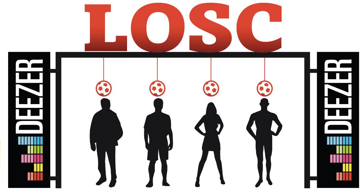 LOSC DEEZER football sponsoring