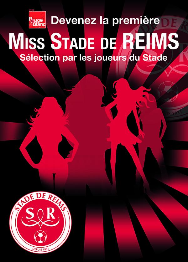 Miss Stade de Reims glamour élection