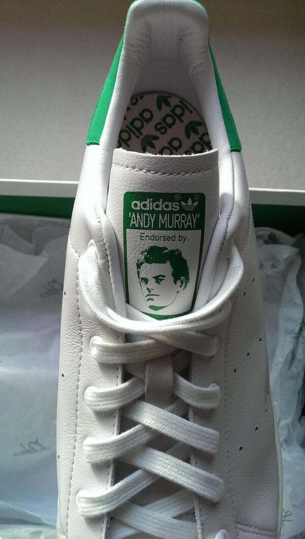 adidas stan smith andy murray