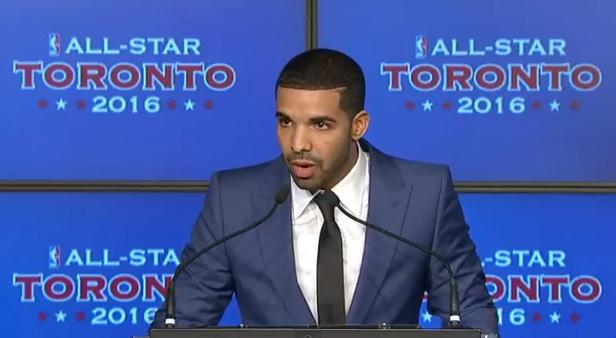 all star game 2016 toronto Drake global ambassador