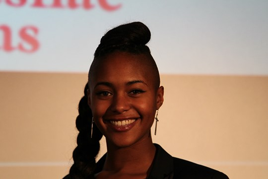 Miss Stade de Reims Charlene Mbakop