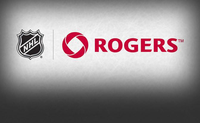 NHL rogers communications droits diffusion hockey sur glace canada