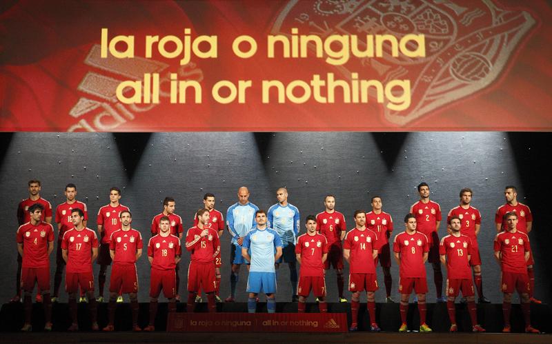 Coupe du monde 2014 nouveau maillot de l espagne adidas - Coupe du monde espagne 2014 ...
