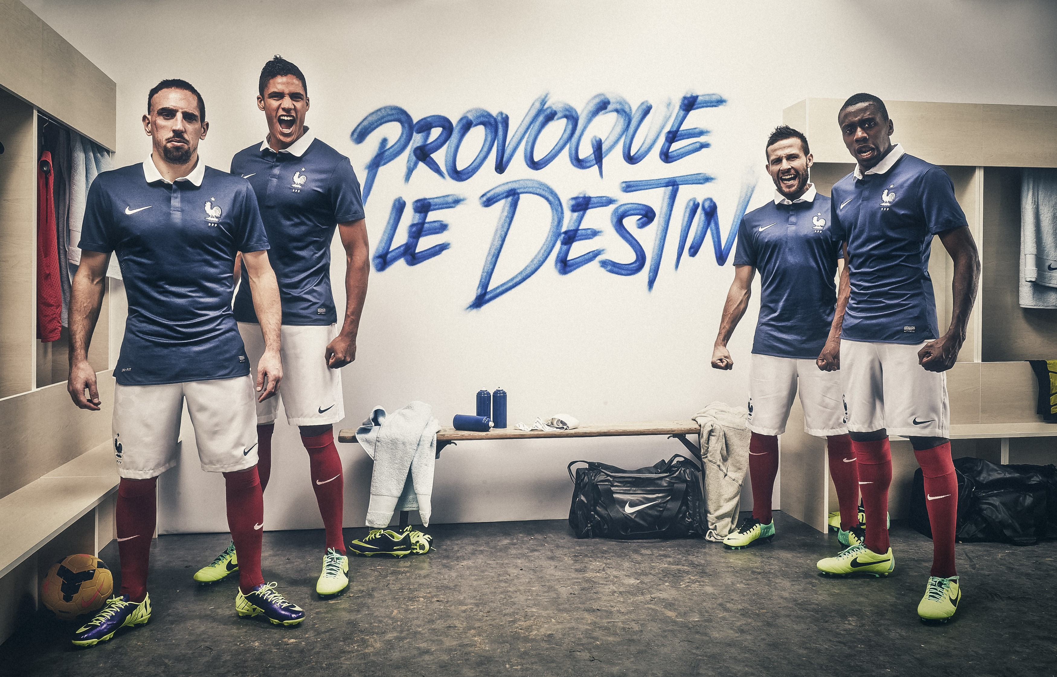 Coupe du monde 2014 nouveau maillot de l 39 equipe de france nike - Maillot equipe de france coupe du monde 2014 ...